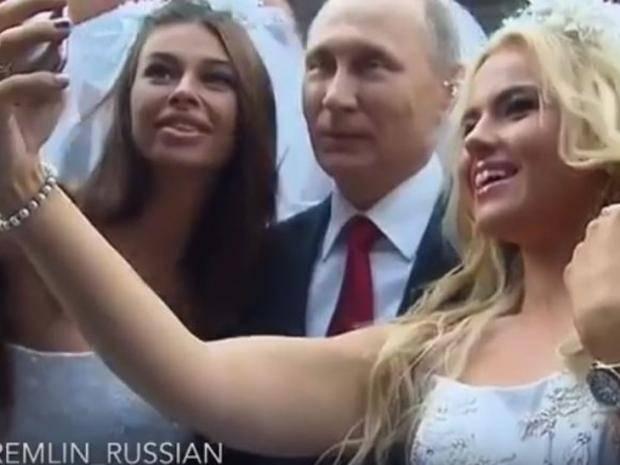 """""""Обычное выступление"""": """"Невеста Путина"""" с селфі на Красной площади оказалась девушкой из эскорта (фото)"""