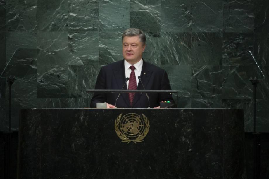 Украина вынесет на рассмотрение Генассамблеи ООН резолюцию о нарушении прав человека в оккупированном Крыму, - Порошенко