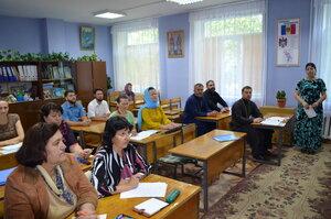 Atelier de formare continuă a profesorilor de Religie din raionul Sîngerei