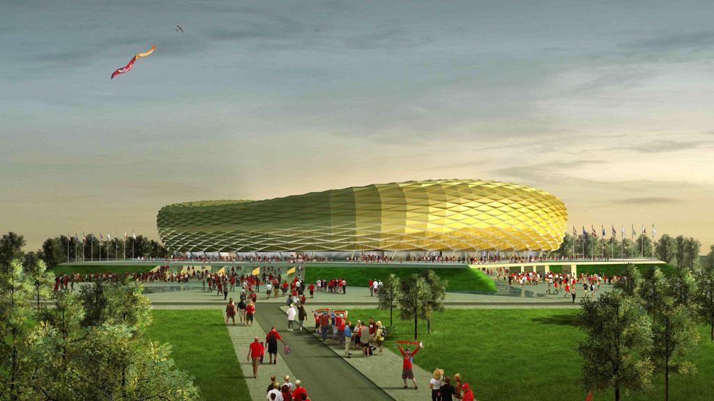 На славянском пустыре в Калининграде построят стадион