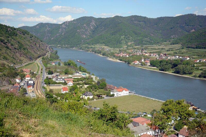 Смотровые площадки Вахау, часть 1: Шпитц (Spitz an der Donau)