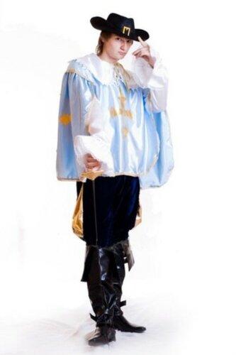 Мужской карнавальный костюм Мушкетёр