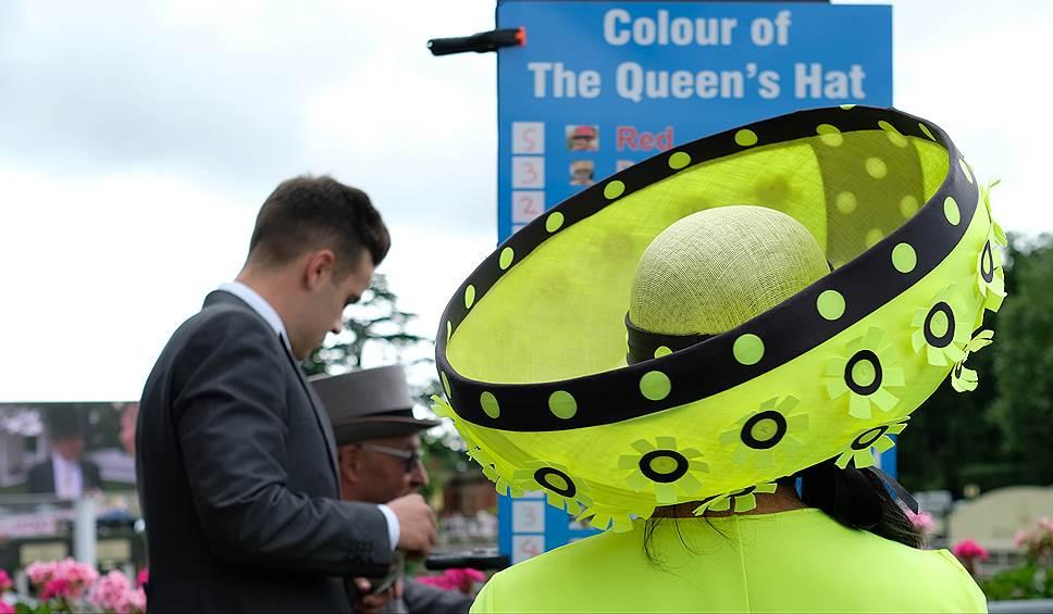«День леди»: парад шляпок на скачках Royal Ascot 2016 0 165a35 1785399c orig