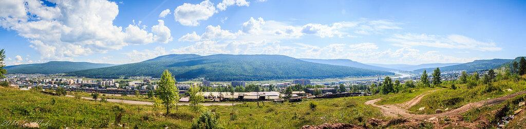 Панорама Усть-Кута