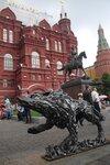 Сила русская в центре столицы Руси