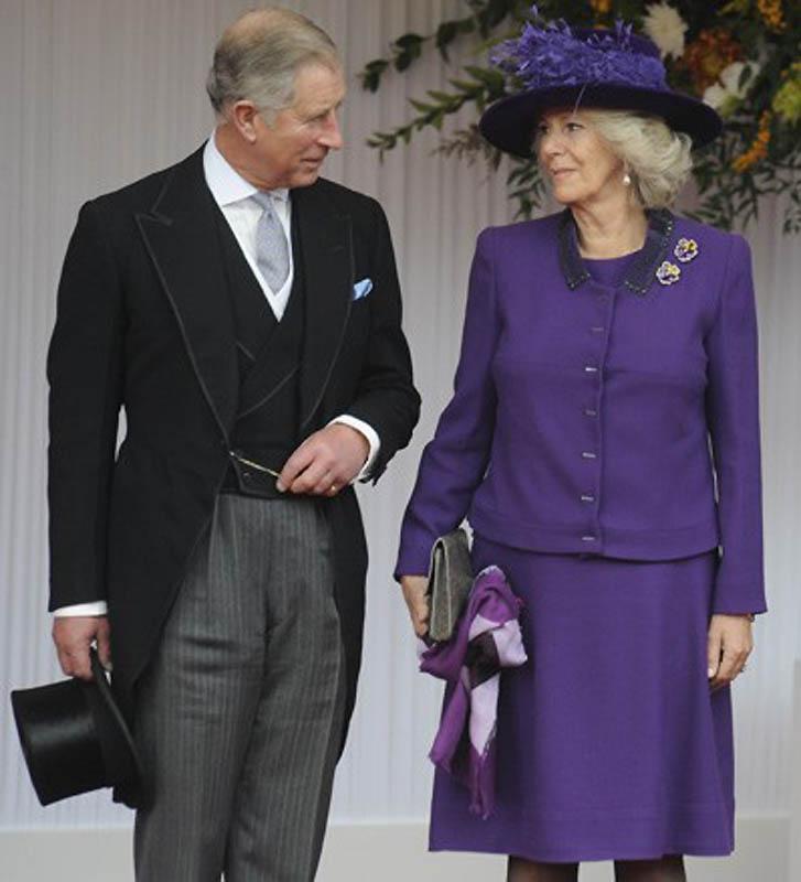 Принц Чарльз и Камилла Паркер-Боулз. (Tristan Gregory, Rota, Camera Press / Retna Ltd.) Очень редко