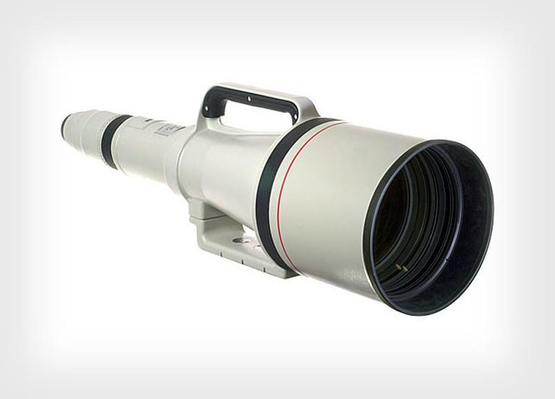 10. Олимпийский гигант: Canon 1200 мм F/5.6 Canon 1200 мм F/5.6 занимает место в нашем списке как кл