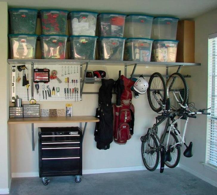 Фото: Monkey Bars of Wichita / Houzz.ru 2. Не доходя до дома В идеале велосипед вообще не стоит зано