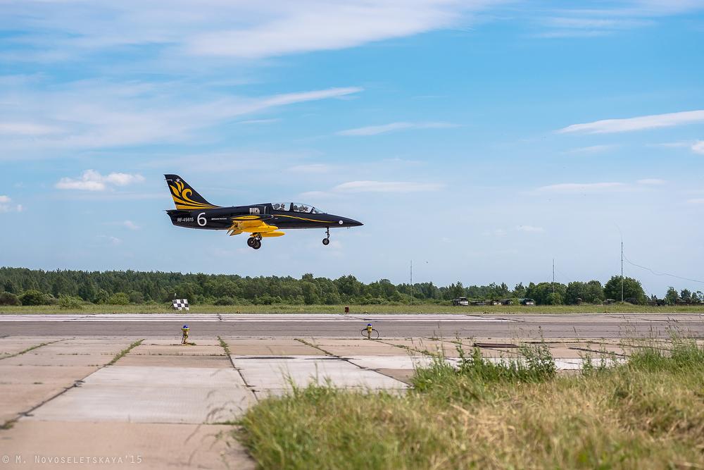 Пилоты эскадрильи «Русь» — единственные летчики в нашей стране, выступающие на самолетах Л-39 «Альба