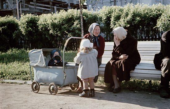 В то время Семен Осипович сделал много фотографий, на которых запечатлена повседневная жизнь простог