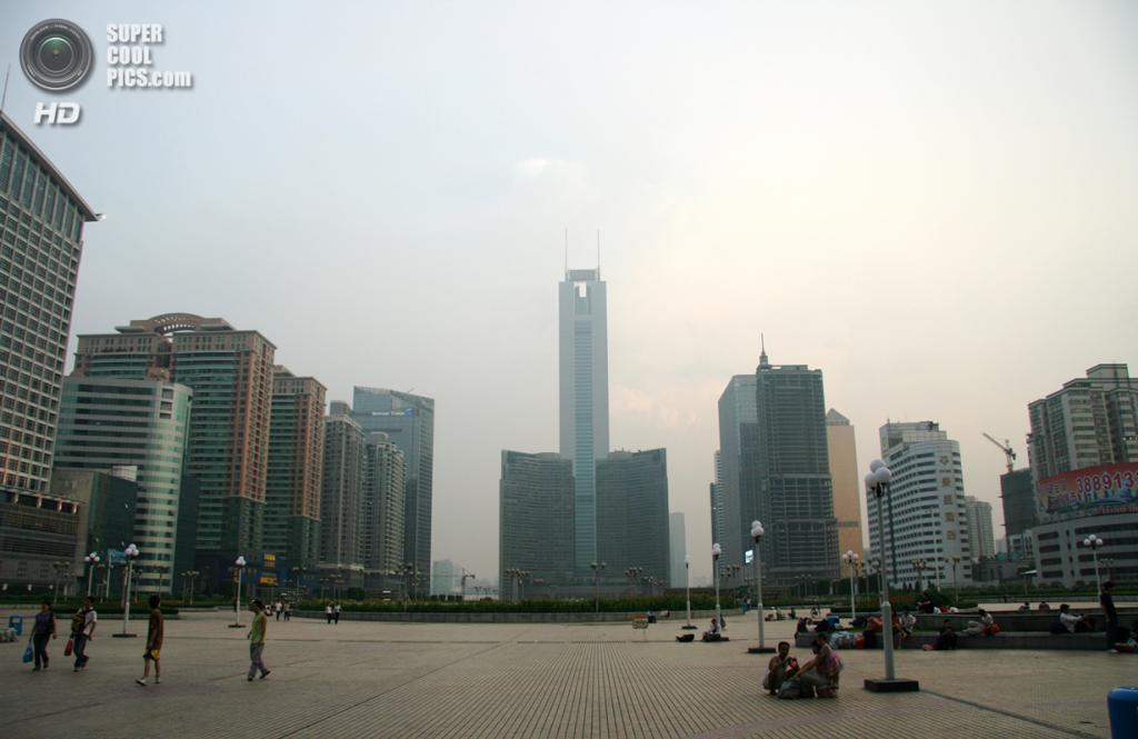 9. Башня CITIC, Гуанчжоу. Высота: 391 м. Введение в эксплуатацию: 1997 год. (J Aaron Farr)