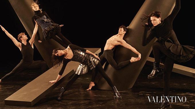 Рекламная кампания Valentino