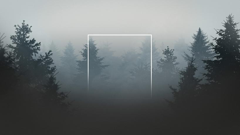 Квадрат в драматических пейзажах как визуальный эффект (3 фото)