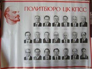 1987. Политбюро ЦК КПСС