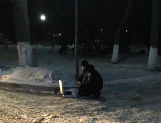 Всети интернет появилось видео сместа дебоша нетрезвого депутата вЧеркассах