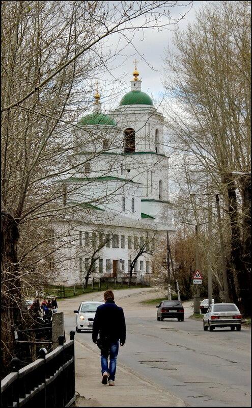 Кыштым 1601 Церковь Сошествия Святого Духа