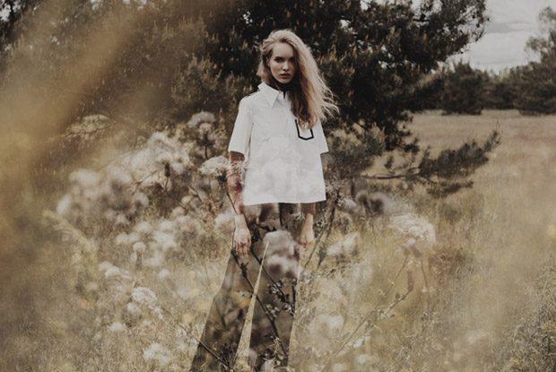 Blouse: Karl Lagerfeld Shirt: Stylist Own Trousers: Bimba y Lola