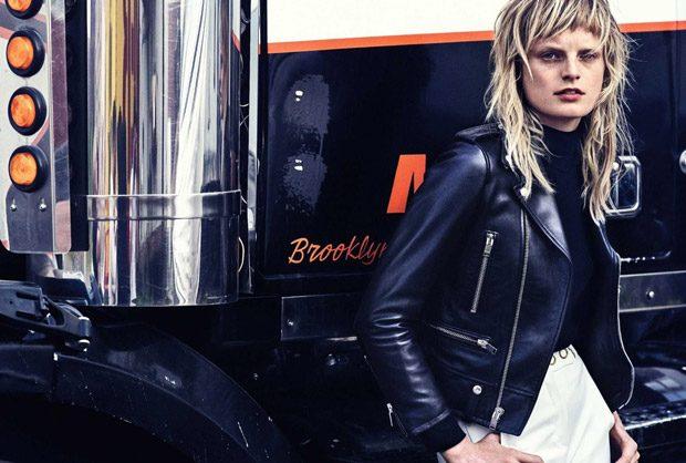Hanne Gaby Odiele Rocks the Pages of Harper's Bazaar Germany