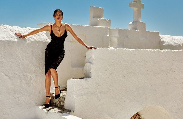 Supermodel Irina Shayk teams up with fashion photographer Giampaolo Sgura for In The Sun Of Italy st