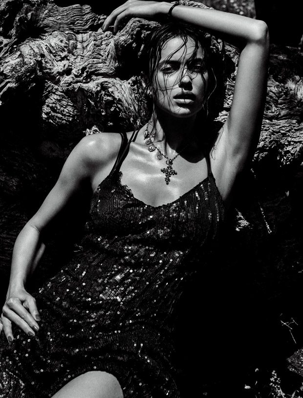Irina Shayk Heats Up the Pages of Vogue Japan September 2016 Issue