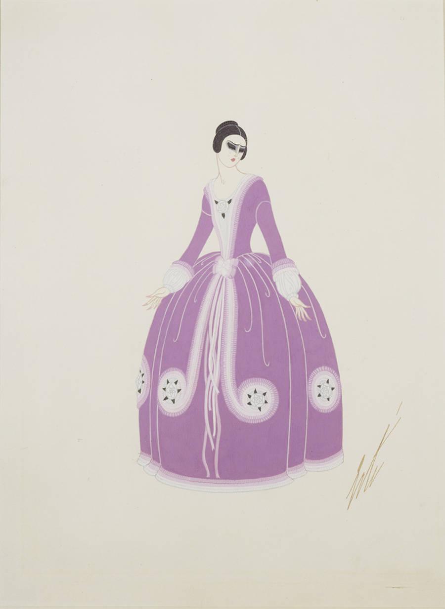 Costume pour Maria Kouznetsoff.