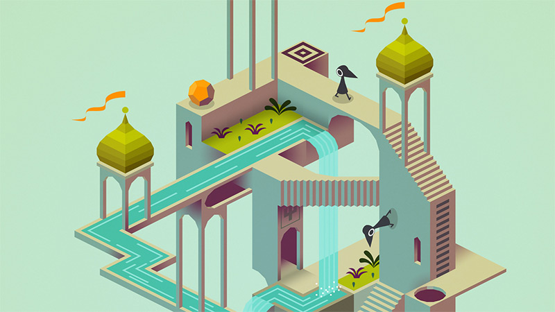 Step Inside an Interactive M.C. Escher Drawing with Monument Valley