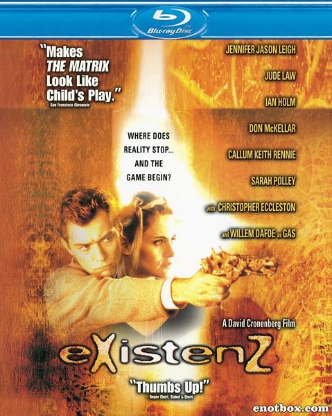 Экзистенция / eXistenZ (1999/BDRip/HDRip)