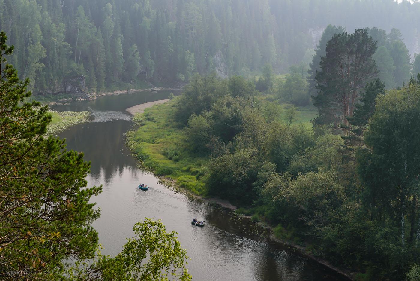 Фото 24. Сплав по реке Серга в природном парке «Оленьи ручьи». 1/250, -0.67, 8.0, 250, 60.