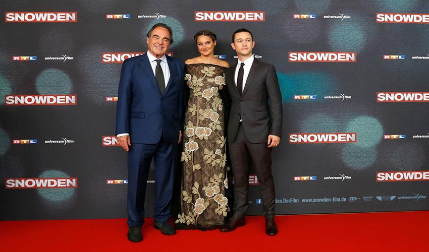 European Premiere 'Snowden' in Mathaeser Filmpalast, München, Germany