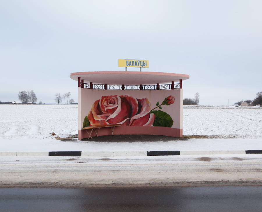 Colorful Bus Stops in Belarus (18 pics)
