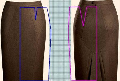 Для шитья фасон юбки