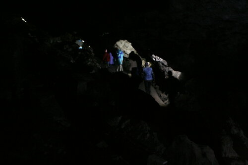 Кунгурская ледяная пещера кристаллов