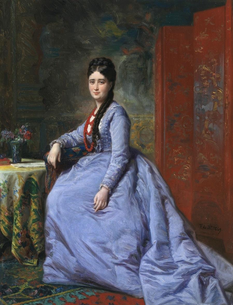 1869_Луиза Бассекур-и-Пачеко (Luisa Bassecourt y Pacheco)_41 х 32_х.,м._Мадрид, музей Прадо.jpg