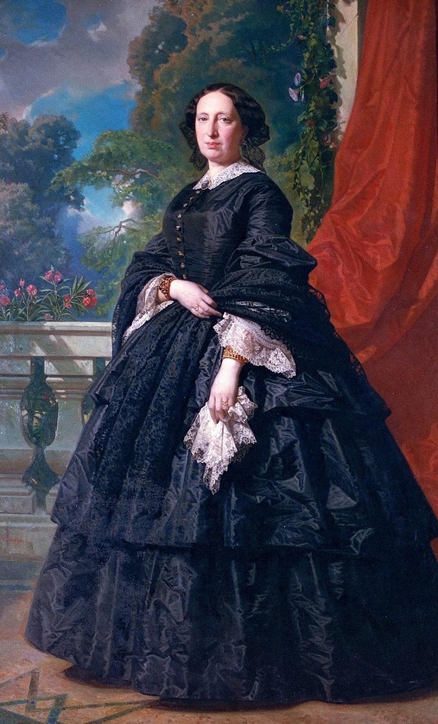 1869_Портрет Карлоты Кинтана-Бадия (Portrait of Carlota Quintana Badia)_203 х 129_х.,м._Барселона, Национальный музей искусства Каталонии.jpg