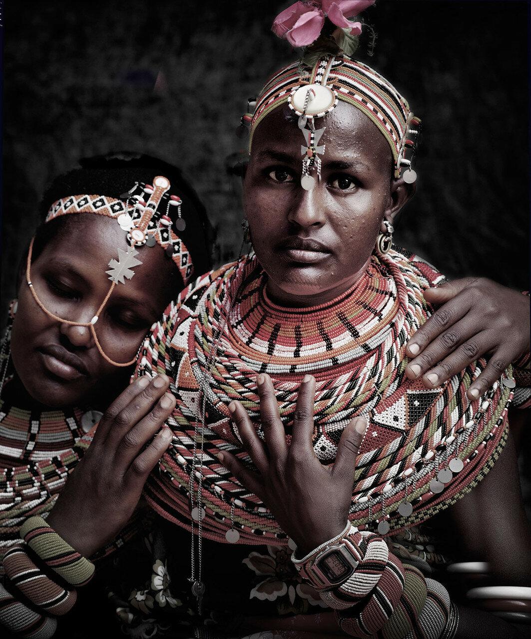 Джимми Нельсон. Проект «Пока они не исчезли». Кения. Народность Самбуру