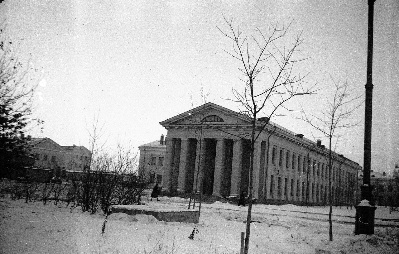 1959. В МГУ
