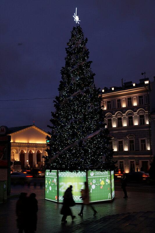 Прогулки по Москве. Вечерне-театральные:)