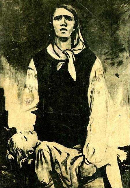 Шмаринов Дементий  (1907-1999) Мать. 1942 г..jpg