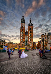 Свадьба в Кракове