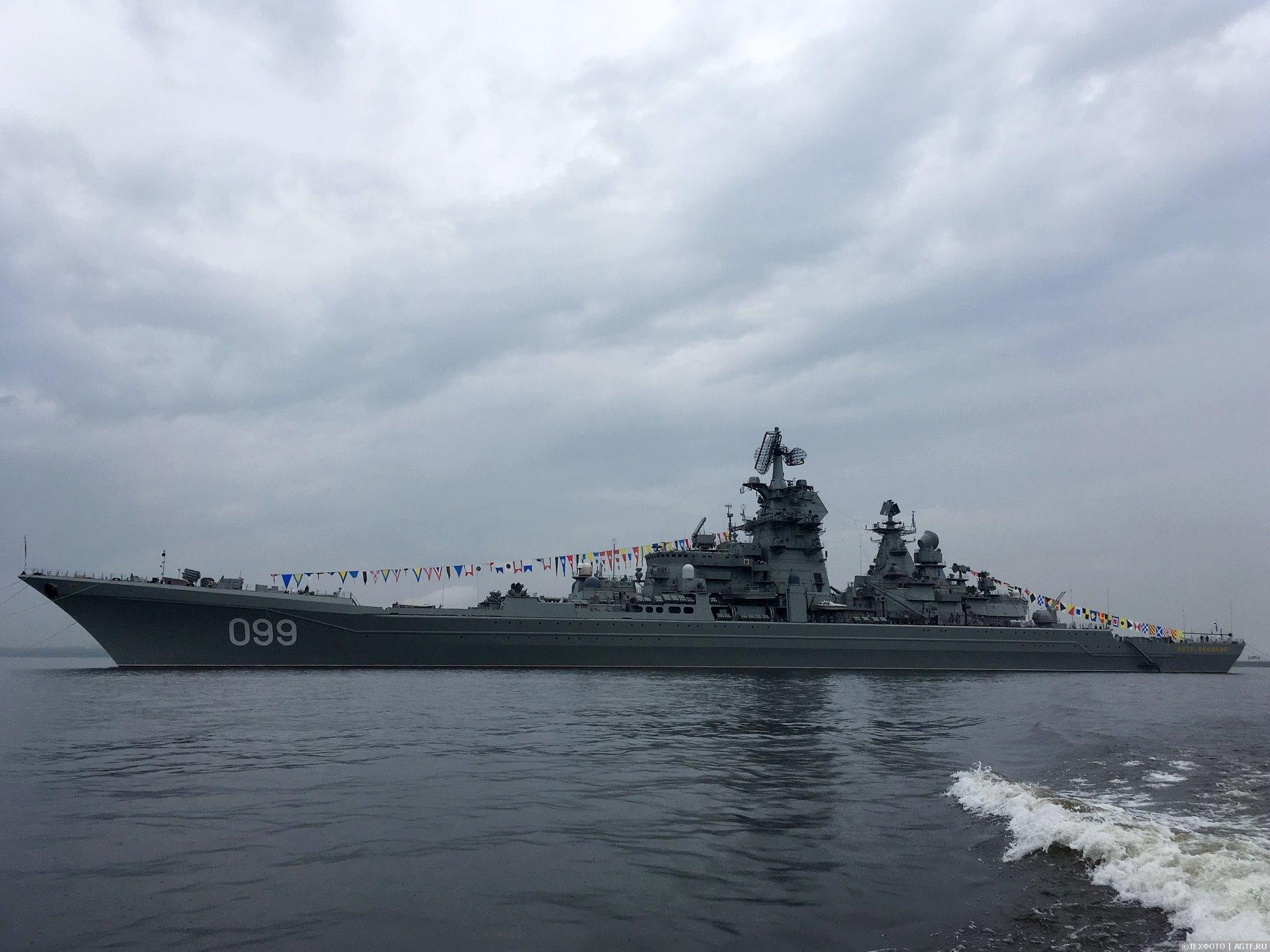 Атомоходы Северного Флота.