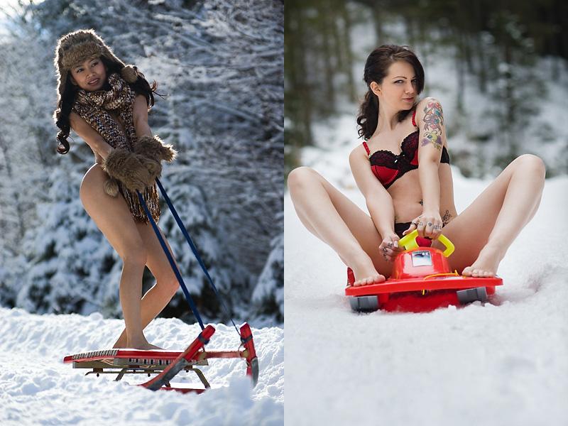 Зимние девушки / Franz Sauer