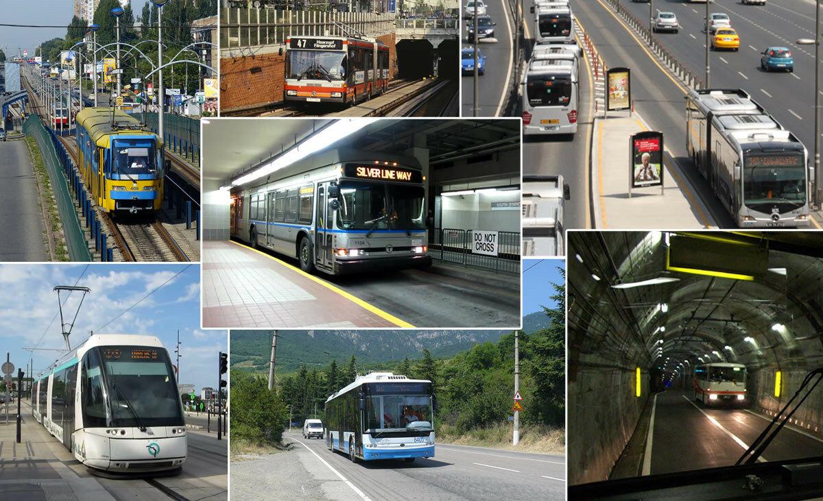 Незвичні різновиди громадського транспорту