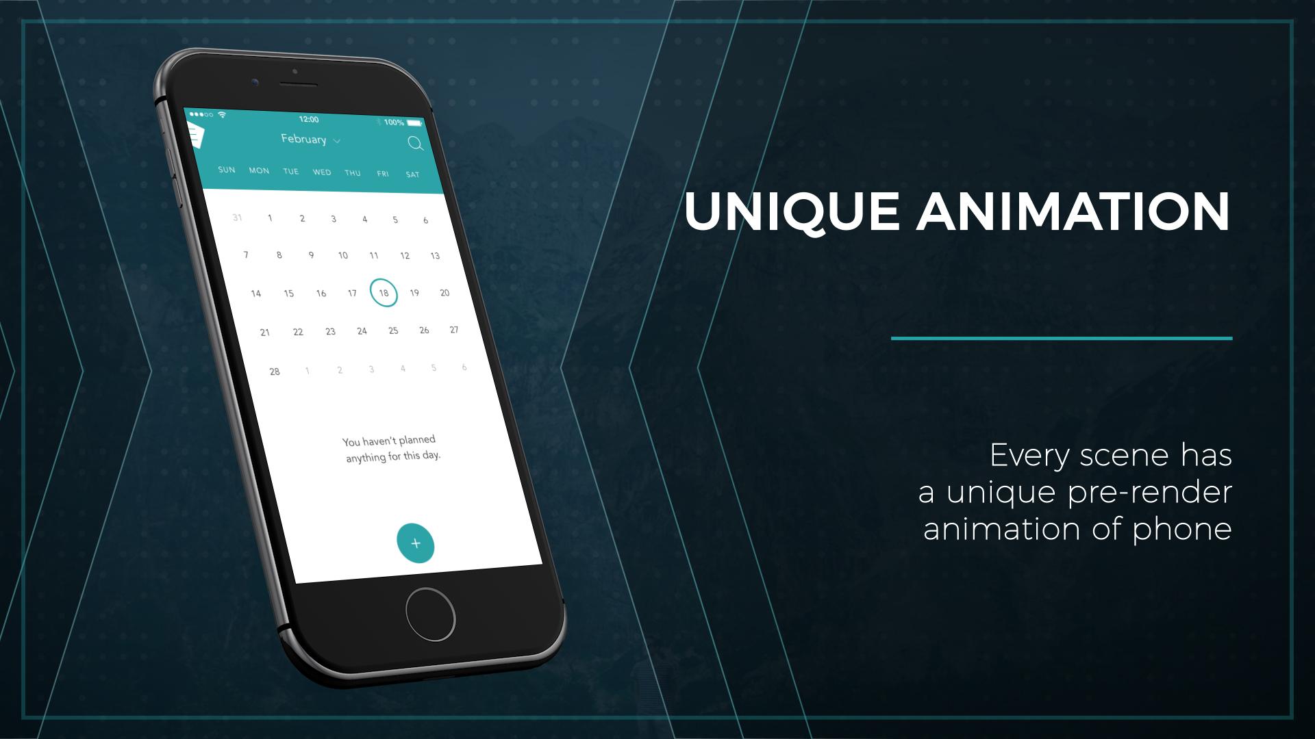 Web / App Presentation - Phone - 8