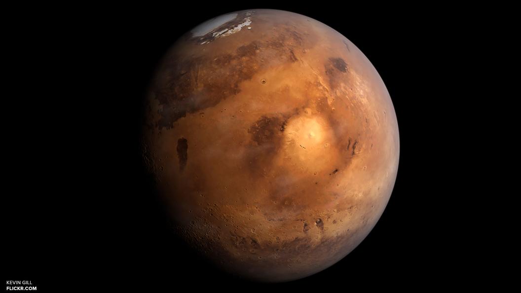 Уфологи нашли на Марсе мертвого инопланетянина
