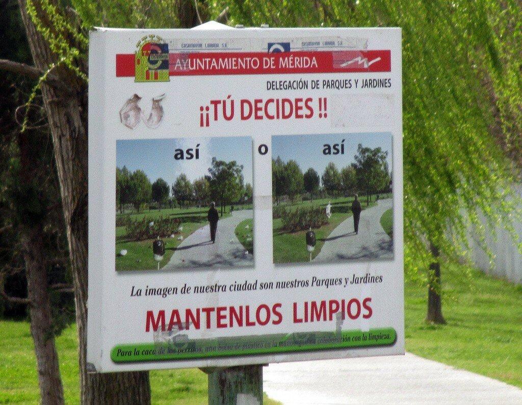 Parque de las VII Sillas, Mérida