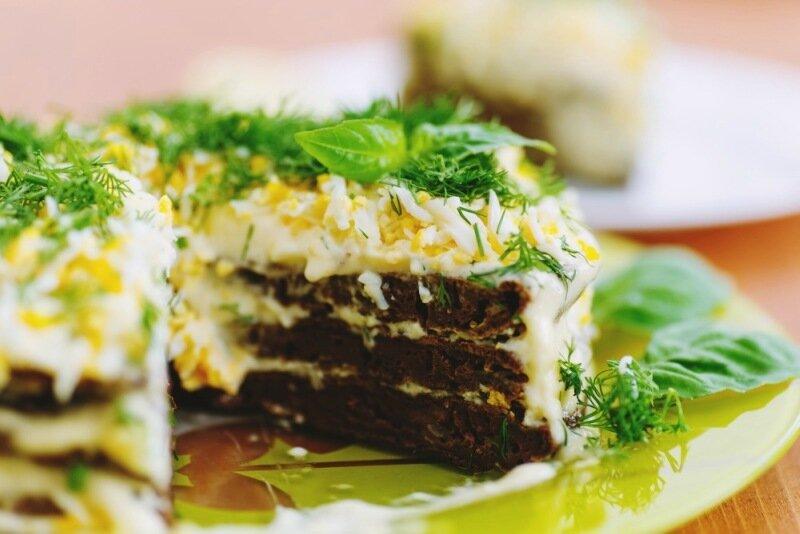 Салат из квашенной капусты и сыра   интересный рецепт