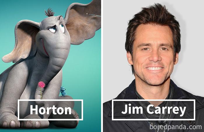 Хортон — Джим Керри.