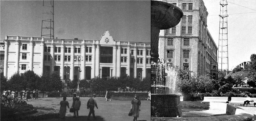В 1968 году на месте старого городского кладбища неподалеку от нынешней станции метро «Дорогожи