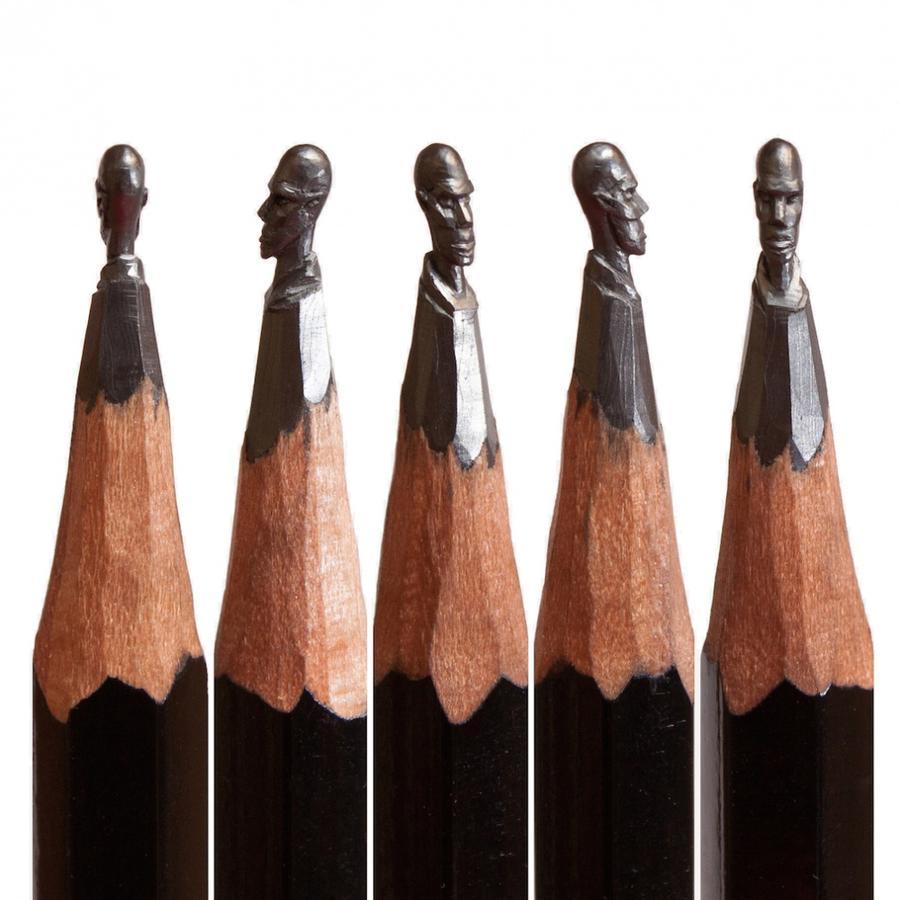 Необычное применение простого карандаша (13 фото)