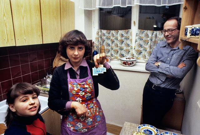 Продовольственные карточки, Варшава, 1982 год.